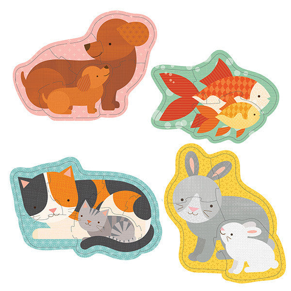 Petit Collage - Beginner Puzzle - Pets - Earth Toys - 2