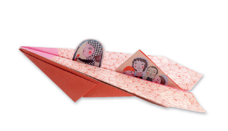 Pretty Paper Planes Origami - Earth Toys - 2