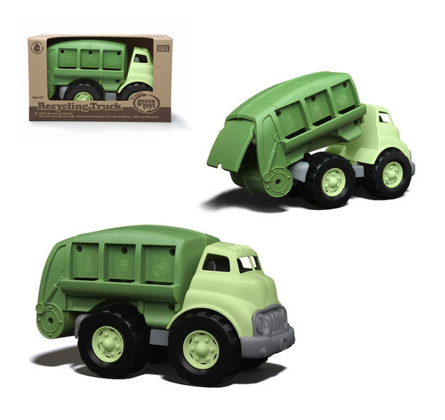 Green Toys Recycling Truck - Earth Toys - 3