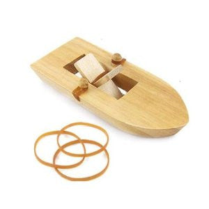 Rubber Band Paddle Boat