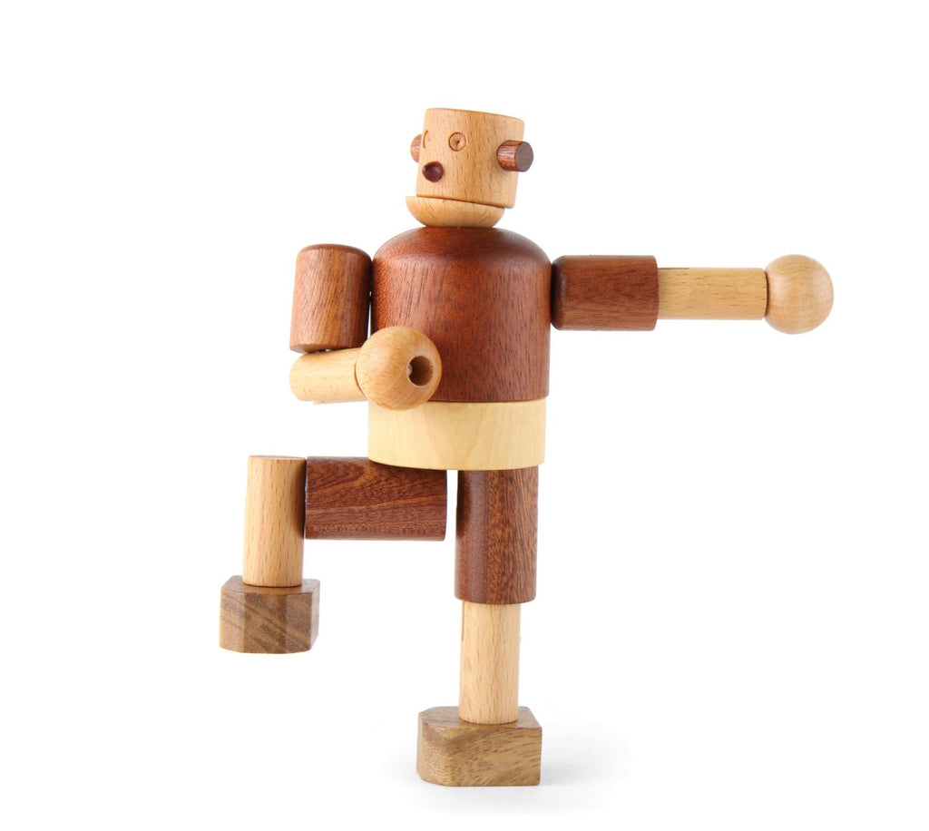 Wooden Robot - Earth Toys - 2