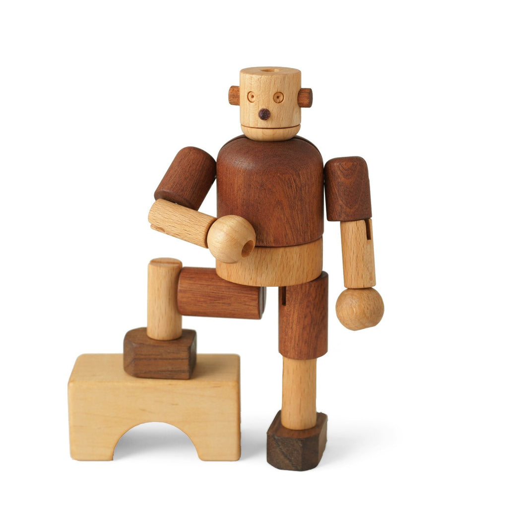 Wooden Robot - Earth Toys - 1