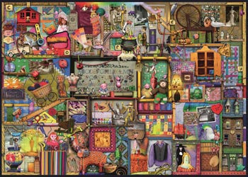 The Craft Cupboard Puzzle 1000pc - Earth Toys - 2