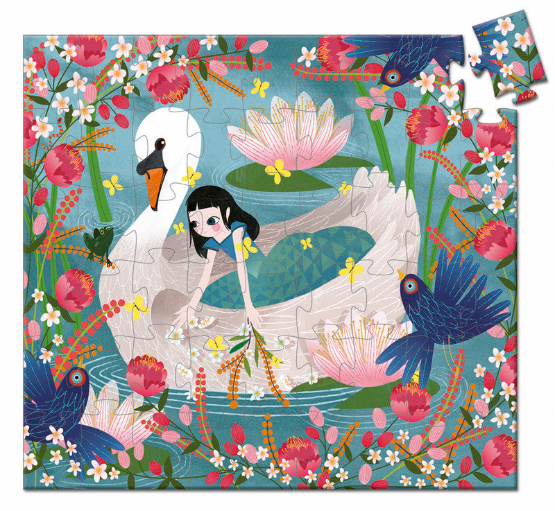 The Lady Swan  54 pc Puzzle - Earth Toys - 2