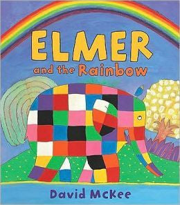 Elmer and the Rainbow Board Book - Earth Toys