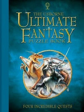 Usborne Ultimate Fantasy Puzzle Book - Earth Toys