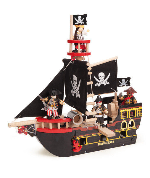 Barbarossa Ship - Earth Toys - 1