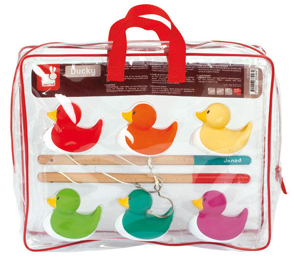 Ducky Fishing Game - Earth Toys - 1