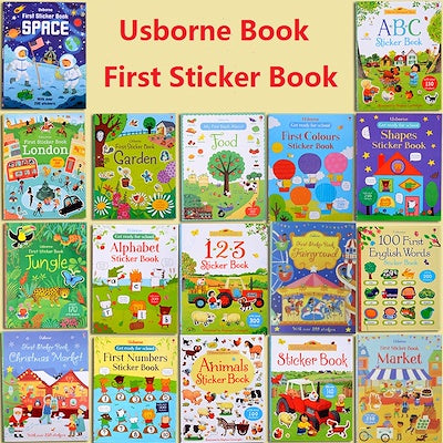 Usborne First Sticker Books