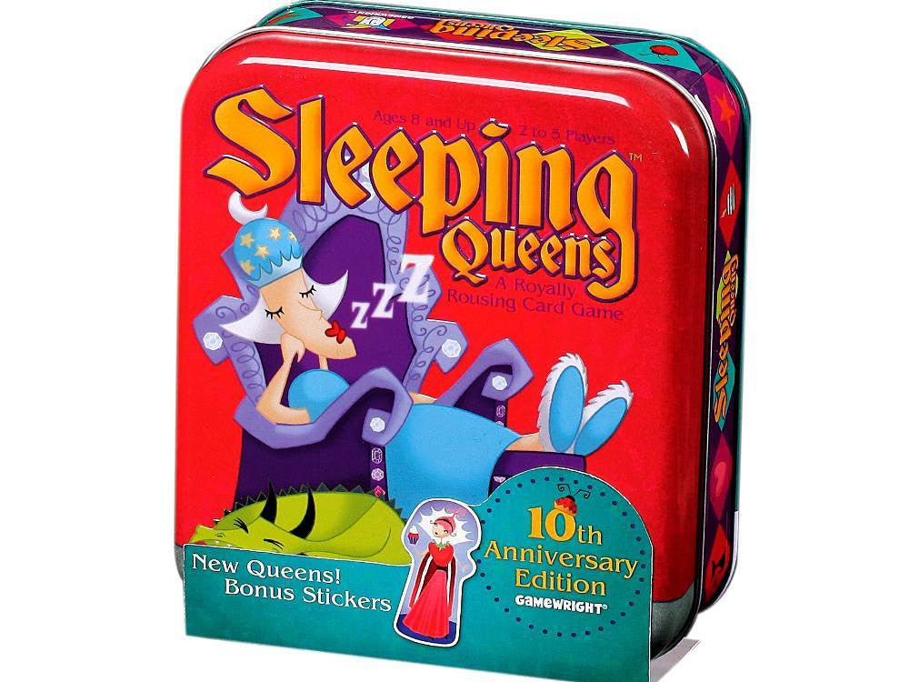 Sleeping Queens 10th Anniversary Tin - Earth Toys