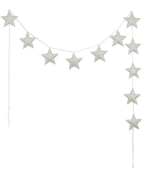 Gold Star Garland - Earth Toys