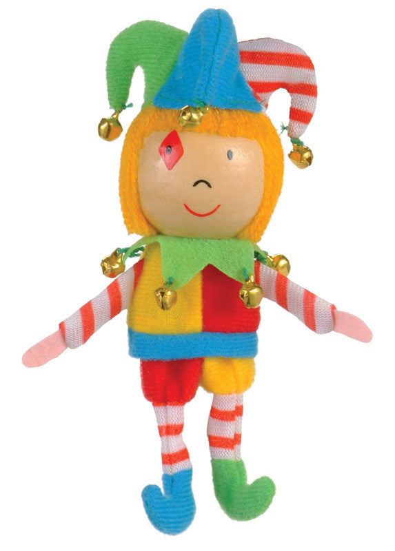 Fiesta Crafts - Jester Finger Puppet - Earth Toys