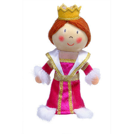Fiesta Crafts - Queen Finger Puppet - Earth Toys