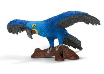 Schleich - Hyacinth Macaw - Earth Toys