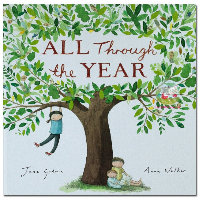ALL THROUGH THE YEAR Book - Earth Toys - 1