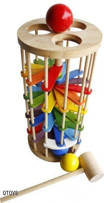 Pound A Ball Tower - Earth Toys
