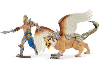 Schleich – Warrior With Griffin - Earth Toys