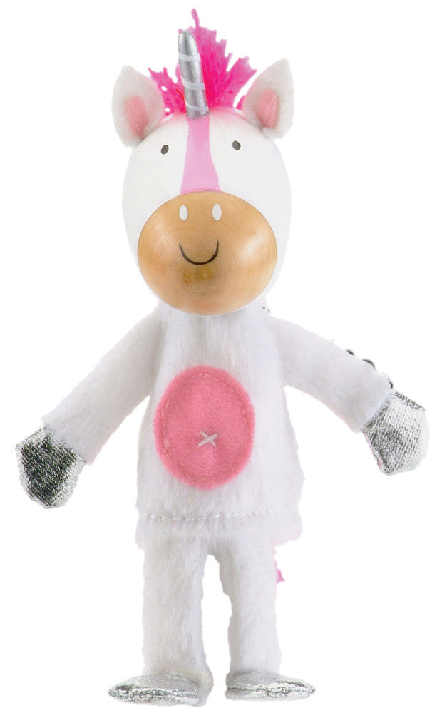 Fiesta Crafts - Unicorn Finger Puppet - Earth Toys