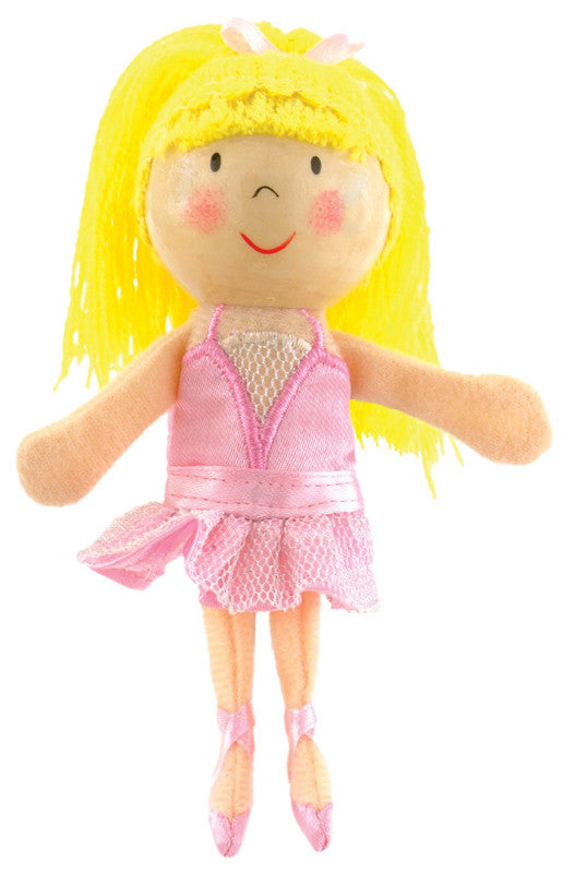 Fiesta Crafts - Ballerina Finger Puppet - Earth Toys