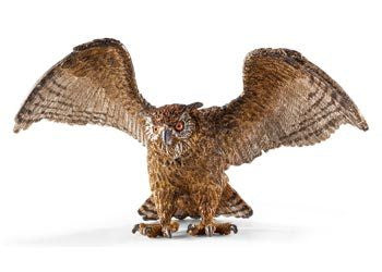 Schleich - Eagle Owl - Earth Toys