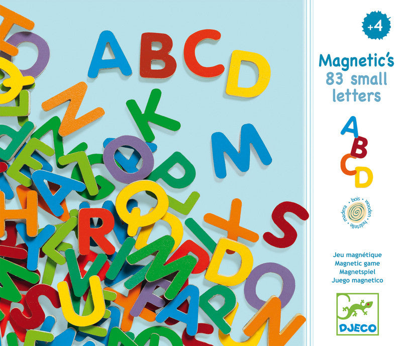 Magnetic Upper Case Letters - Earth Toys