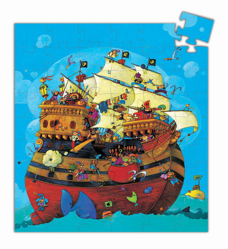 Barbarossa Boat Puzzle 54pc - Earth Toys - 2