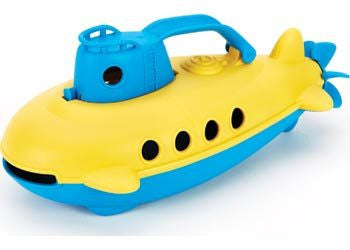 Green Toys - Submarine - Yellow Cabin
