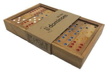 Six Dot Dominoes - Earth Toys