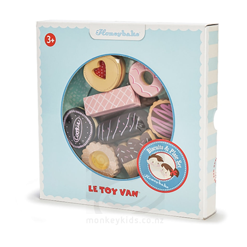 Le Toy Van - Biscuit and Plate Set - Earth Toys - 2
