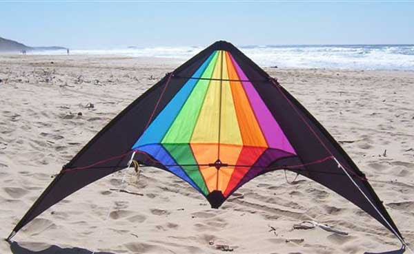 Stunt Kite - Black Widow
