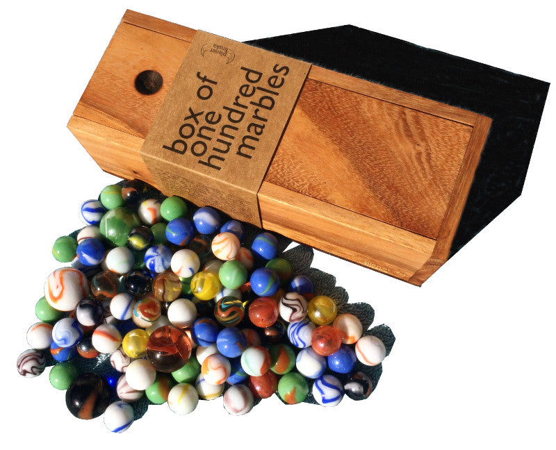 Box of 100 Marbles - Earth Toys - 2