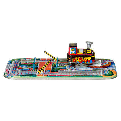 Tin Crossroad Train - Earth Toys - 1