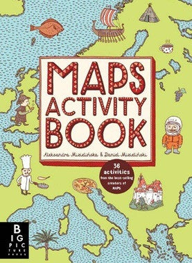 Maps Activity Book - Earth Toys