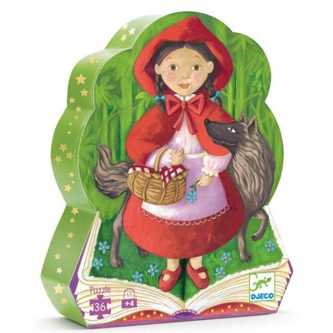 Little Red Riding Hood 36p Puzzle - Earth Toys - 1