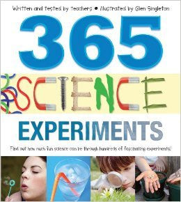 365 Science Experiments - Earth Toys