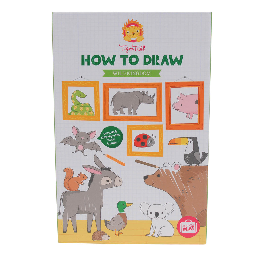 How-to-Draw - Wild Kingdom - Earth Toys - 1