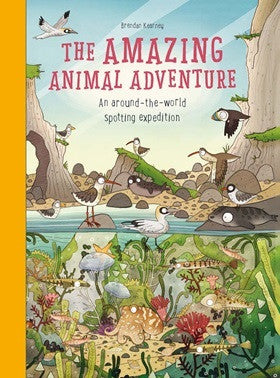 Amazing Animal Adventure: An Around-the-World Spotting Expedition