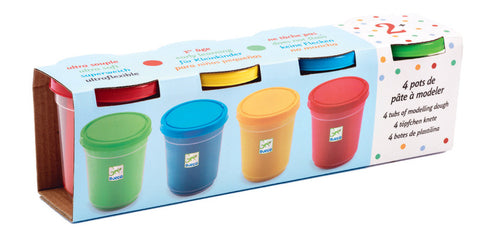4 X Play Dough Tubs