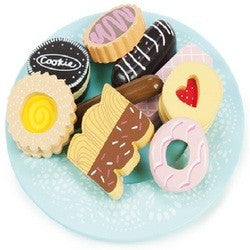 Le Toy Van - Biscuit and Plate Set - Earth Toys - 1