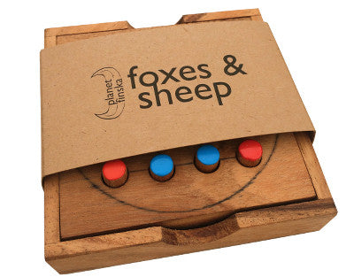 Travel Foxes and Sheep - Earth Toys - 1
