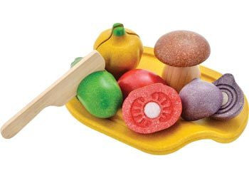 PlanToys - Assorted Vegetable Set - Earth Toys