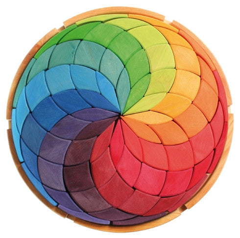 Grimms - Circle Coloured Spiral - Earth Toys