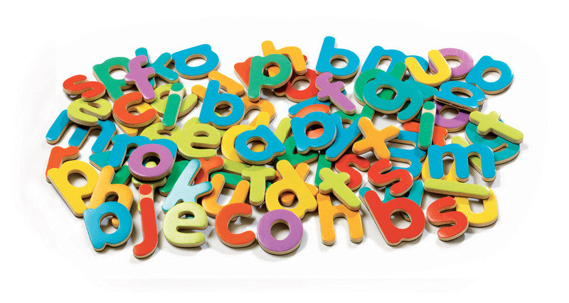Magnetic Lower Case Letters - Earth Toys