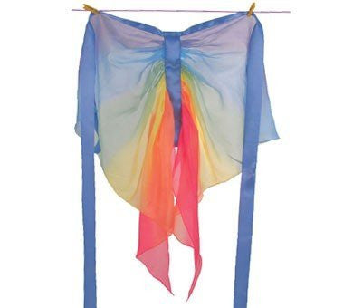 Silk Fairy Wings Rainbow