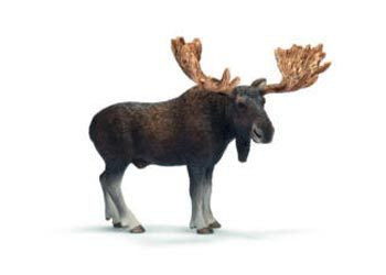Schleich - Moose bull - Earth Toys
