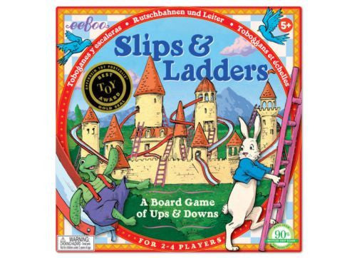 Slips and Ladders Board Game - Earth Toys