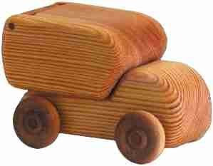 Debresk Small Parcel Truck - Earth Toys