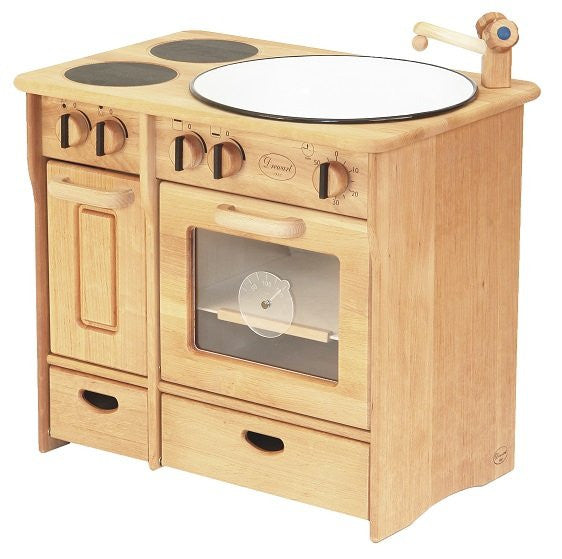 Drewart Handcrafted Timber Kitchen - Earth Toys - 1