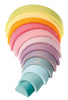 Pastel Stacking Rainbow - Earth Toys - 2