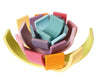 Pastel Stacking Rainbow - Earth Toys - 3